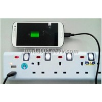 electrical socket with USB for PAD/Phone