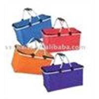 foldable and eco-friendly shopping basket