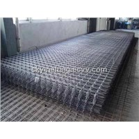 Galvanized Welded Wire Mesh Steel Panel 150*150mm Mesh Size