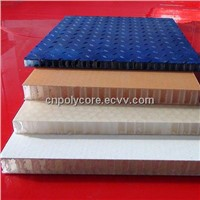 Honeycomb Composite Panel as Boat Wall