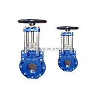 knife gate valve/knife gate valves/gate valve/gate valves/sluice valve/