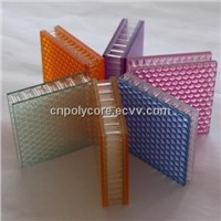 Light Transmission Honeycomb Sandwich Panel in Decoration