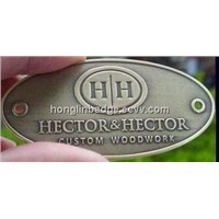 nameplates, badges, furniture tags, Name plates, Aluminum plaques, brass nameplates, Office Signs