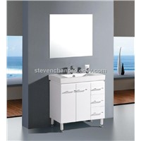 new black & white bathroom vanity bathroom cabinet Made in China Hangzhou model:526