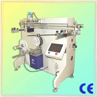 semi-automatic good quality pail screen printing machine for 1 color