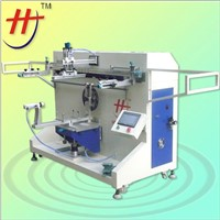 semi-automatic plastic bucket screen printing machine for 1  color