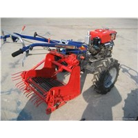 single row potato harvester for walking tractor