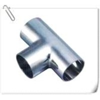 stainless steel tee pipe fittings maufacturer in China