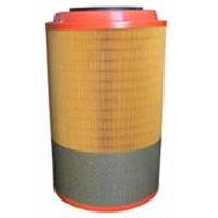 Truck Spare Parts Engine Air Filter / Howo 0.001 Micron Filter