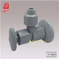 C-1030    Plastic Angle Valve with Flange