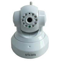 HOT SALE! 2013NEW Security Wireless network Sricam WiFi P2P Night Vision Audio digital IP Camera