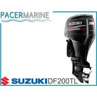 SUZUKI DF 200 HP FOUR STROKE OUTBOARD ENGINE BOAT MOTOR