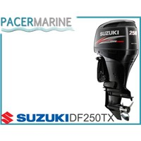 SUZUKI DF 250 HP FOUR STROKE OUTBOARD ENGINE BOAT MOTOR