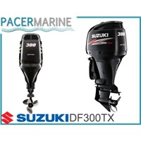 SUZUKI DF 300 HP FOUR STROKE OUTBOARD ENGINE BOAT MOTOR
