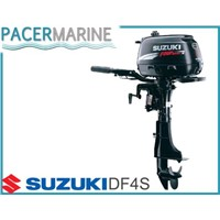 SUZUKI DF 4 HP FOUR STROKE OUTBOARD ENGINE BOAT MOTOR