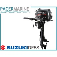 SUZUKI DF 5 HP FOUR STROKE SHORT SHAFT OUTBOARD ENGINE BOAT MOTOR