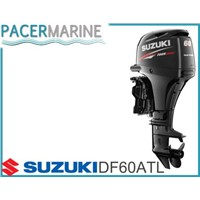 SUZUKI DF 60 HP FOUR STROKE OUTBOARD ENGINE BOAT MOTOR