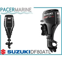 SUZUKI DF 80 HP FOUR STROKE OUTBOARD ENGINE BOAT MOTOR
