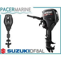SUZUKI DF 8 HP FOUR STROKE OUTBOARD ENGINE BOAT MOTOR