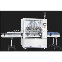 FL-122 Automatic Volumetric Liquid Dual Line Filling Machine (Servo System)-Pack Leader