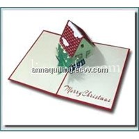 Christmas House - 3D Pop up Christmas Card