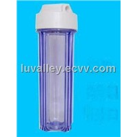 10' Transparent Filter Cartridge, PP, Carbon, Resin are available