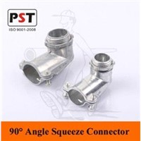 90 Degree Angle Squeeze Connector
