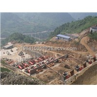 China gold ore plant/production line, mineral selecting/processing equipment