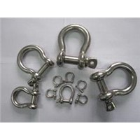 JIS Type Screw Pin Anchor Shackle With or Without Collar