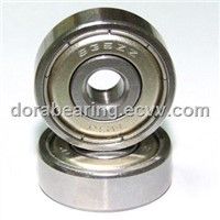 Long life wear resistant open metric high temperature open deep groove ball bearing 635