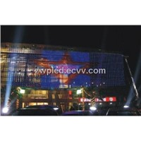 P16 SMD outdoor LED display curtain
