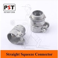 Straight Flex Squeeze Connector