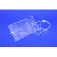 Urine Bag with push pull valve
