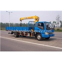 XCMG 3.2 Ton Right Hand Drive Truck With Crane