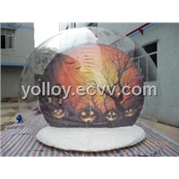 Transparent Inflatable Snow Globe Tent for Product Show