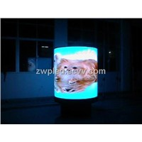 cylinder indoor/outdoor full color LED display screen