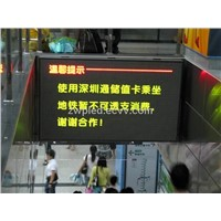 indoor tri-color dotmatrix LED display screen