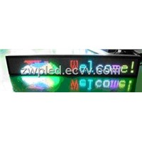 wireless LED moving message sign