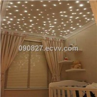 Optical Fiber Star Nursery Ceiling Lights of a Different Kind for the Babys Room