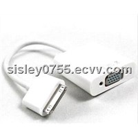 30pin to vga cable adapter for iPad vga cable for ipad