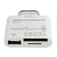 5in1 camera connection kit for ipad SD reader
