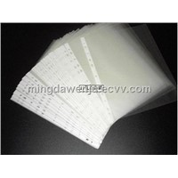 11 holes PP Sheet Protector  punched pocket  clear pocket