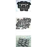 Charcoal / Coal Briquette Press Machine for Pillow Shape