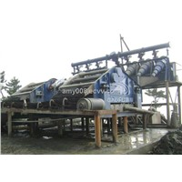 Coal lump circular vibration separator machine