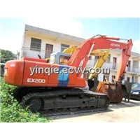 Crawler Used Excavator Hitachi EX200-3