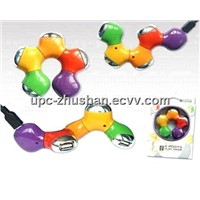 Fashion High Speed Colorful USB Computer HUB