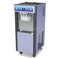 Commercial Frozen Yogurt Machines With 3 Flavors, 2.3KW Single Phase Soft Serve Ice Cream Equipment
