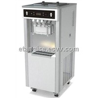 Pre-Cooling 3 Flavors Soft Serve Yogurt Machine, Commercial Ice Cream Machines for Buffet Restaurant
