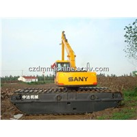 Hot ! Competitive Price of Sany 135 Amphibious Excavator