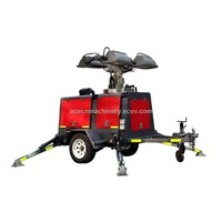 Mobile light Tower4HVP 4000